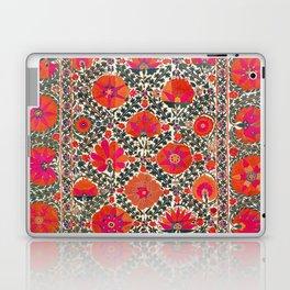 Kermina Suzani Uzbekistan Colorful Embroidery Print Laptop & iPad Skin