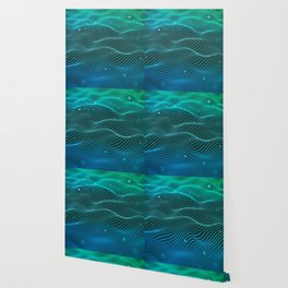 Wavy Lines Wallpaper