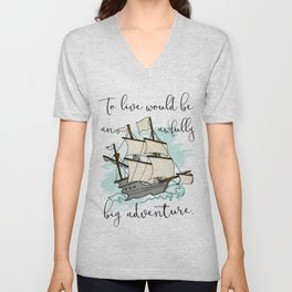 Live the Adventure Unisex V-Neck