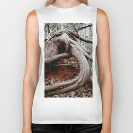 twisted roots, color photo Biker Tank