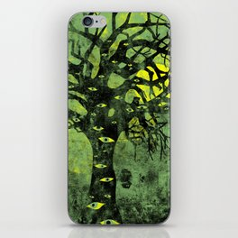 the Vision Tree (green) iPhone Skin