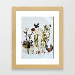 Gardening and Other Euphemisms Framed Art Print