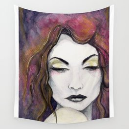 Pensive Wall Tapestry
