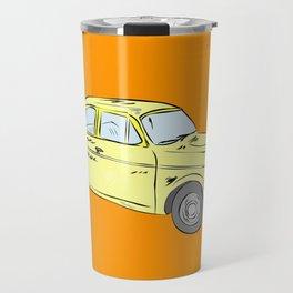 2 caballos viejo carro / old car custom spain ols model Travel Mug