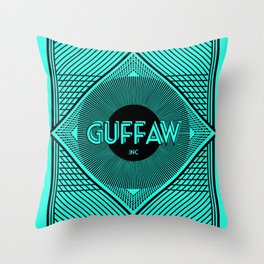 Back of Card Throw Pillow
