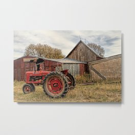 Down on the Farm Metal Print