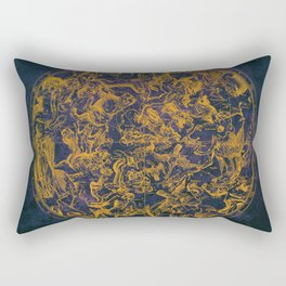 Vintage Constellations & Astrological Signs | Purple Galaxy Rectangular Pillow
