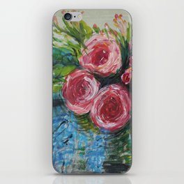 The Tea Rose Garden iPhone Skin