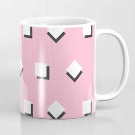 Pattern on pink Coffee Mug