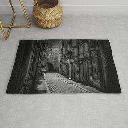 cobblestones alley Rug