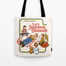LET'S SUMMON DEMONS Tote Bag