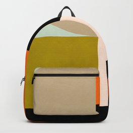 think big 4 shapes geometric Backpack