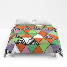Triangle 2 Comforters