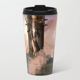 The  Totem place Travel Mug
