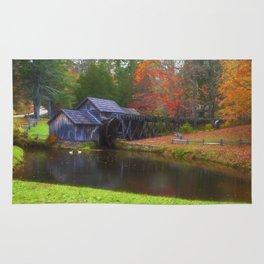 Mabry Mill in Virginia Rug