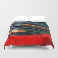 rave Duvet Covers featuring Rave by Neelie
