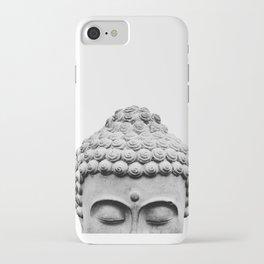 Shy Buddha iPhone Case