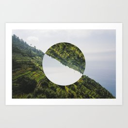Changing perspective Art Print