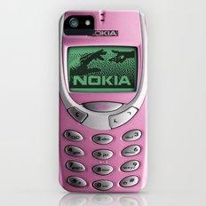 OLD NOKIA Pink iPhone (5, 5s) Slim Case