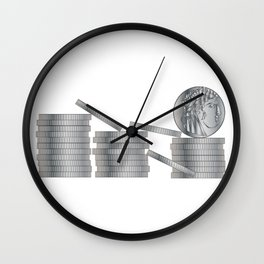 30 Pieces Of SIlver Wall Clock