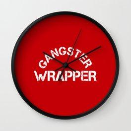 Gangster Wrapper Wall Clock