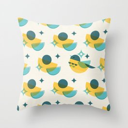 Brid Century Modern - Bird II Throw Pillow