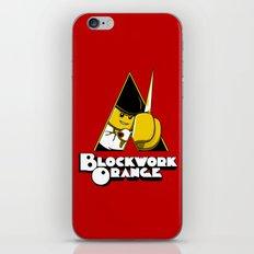 Blockwork Orange iPhone & iPod Skin