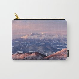 Beautiful sunrise in the Tatra mountains Carry-All Pouch