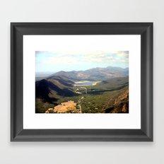 The Grampians National Park or (Gariwerd in Aboriginal) Framed Art Print