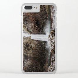 Abiqua Falls Clear iPhone Case