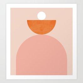 Abstraction_Balance_Minimalism_003 Art Print