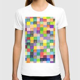 Pixelated Patchwork T-shirt