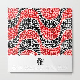 Flamengo Metal Print