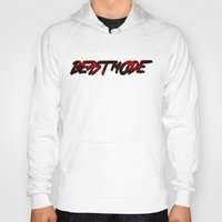 depeche mode Hoodies featuring Beast Mode by Gym Worthy