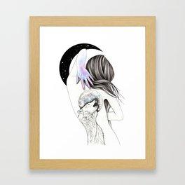 Moon Coven Framed Art Print