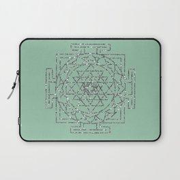 Glitter Sri Yantra Laptop Sleeve