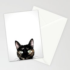 Peeking Cat Stationery Cards