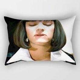 Uma Thurman @ Pulp Fiction Rectangular Pillow