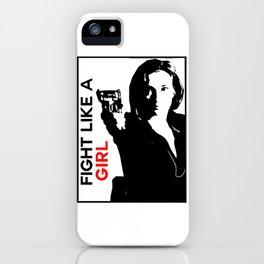 Fight Like A Girl (Nicole) iPhone Case
