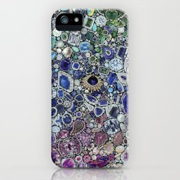 Diamonds, Jewels, (Gems & The Hologram) iPhone Case