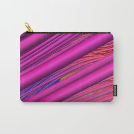 Fibers in Pink Carry-All Pouch