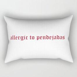 Allergies Rectangular Pillow