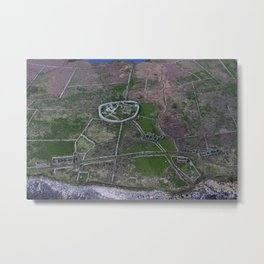 Inish Murray Island Sligo on the Wild Atlantic Way Metal Print