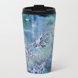 Lunar neuronal essence Metal Travel Mug