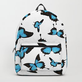 Blue mountain swallowtail Backpack