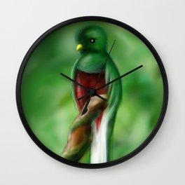 QUETZAL Wall Clock