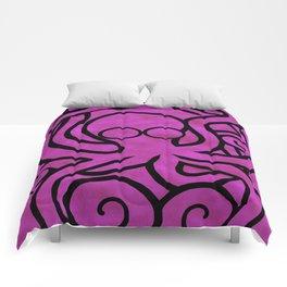 Octo-Doodle-Pus Pink Comforters