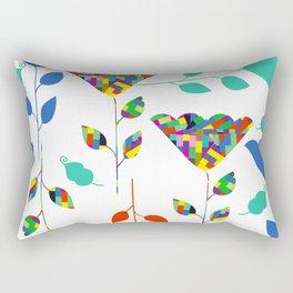 Flowers 45S Rectangular Pillow