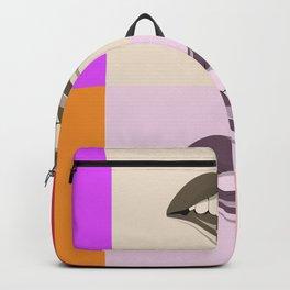 Pop Art Colourful Lips Backpack