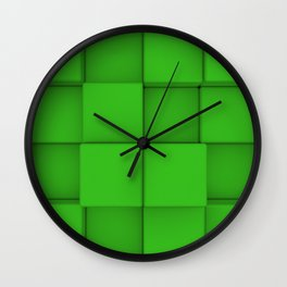 Wall of cubes Wall Clock
